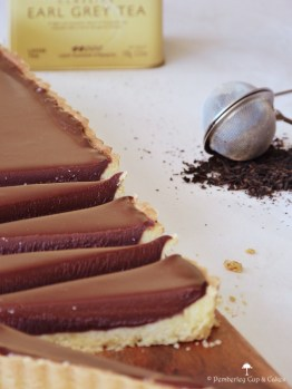 Tarta de chocolate y earl grey