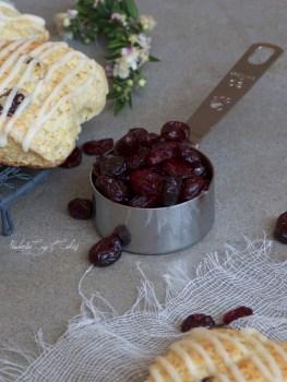 Cranberry Scones {Scones de arándanos}