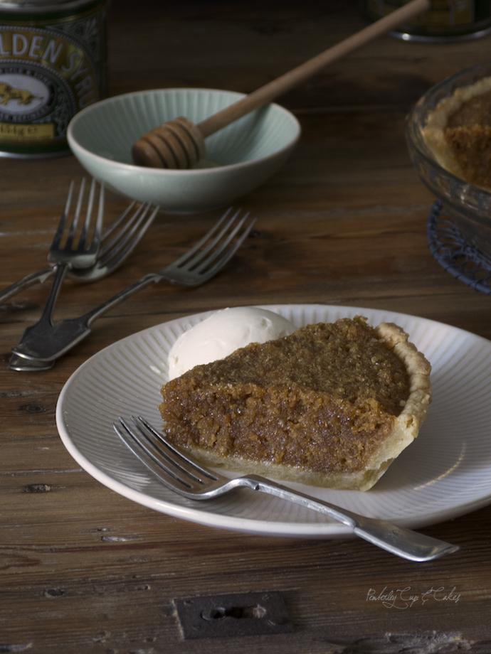 Treacle Tart (Tarta de melaza)