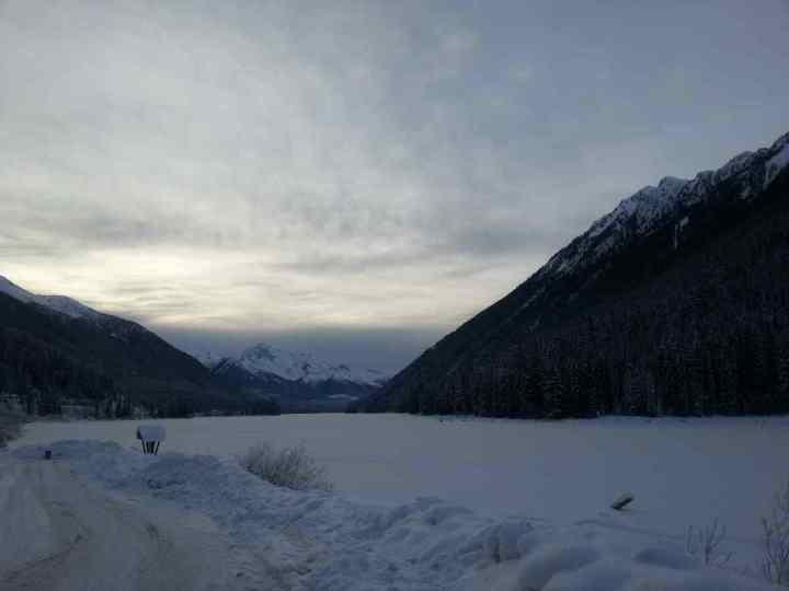 Duffey Lake in Winter