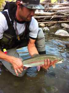 Pemberton Fish Finder BC Fishing Guides New Fly Fishing Guide