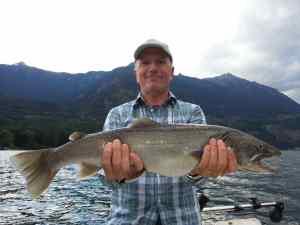 Fishing Big Trout British Columbia Canada