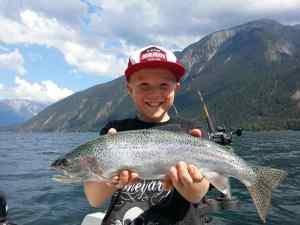 Fun Kids Fishing Tours in Whistler and Pemberton BC Canada