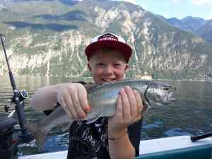 Fishing with the pemberton Fish Finder