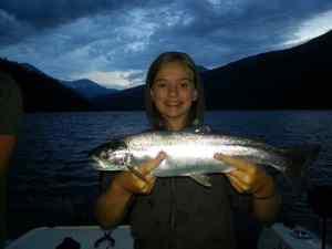 Girls love to fish