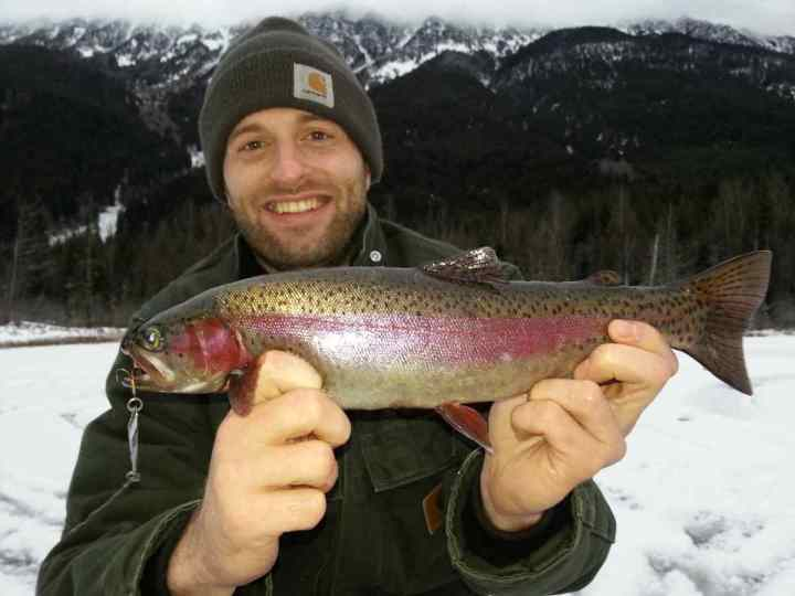 Rainbow Trout worth a smile