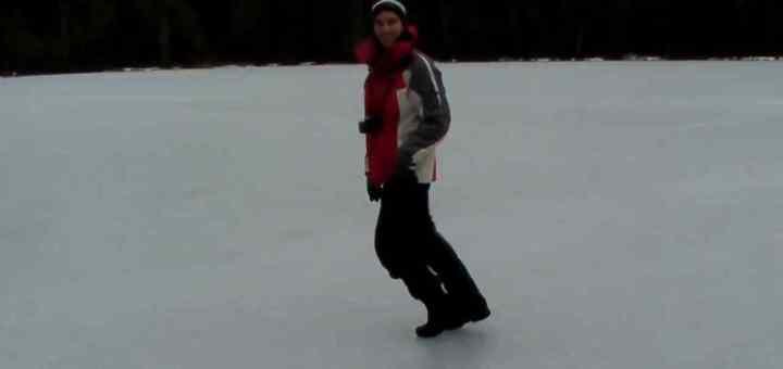 The Moonwalking Ice Fisherman