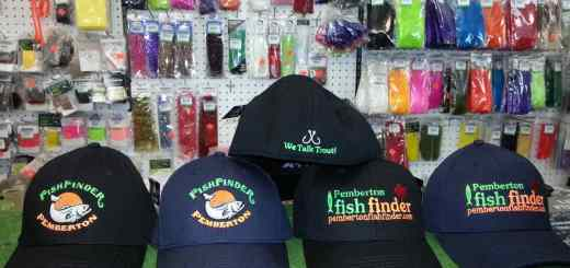 New Pemberton Fish Finder Hats