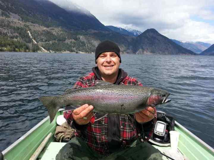 May Fishing Anderson Lake British Columbia