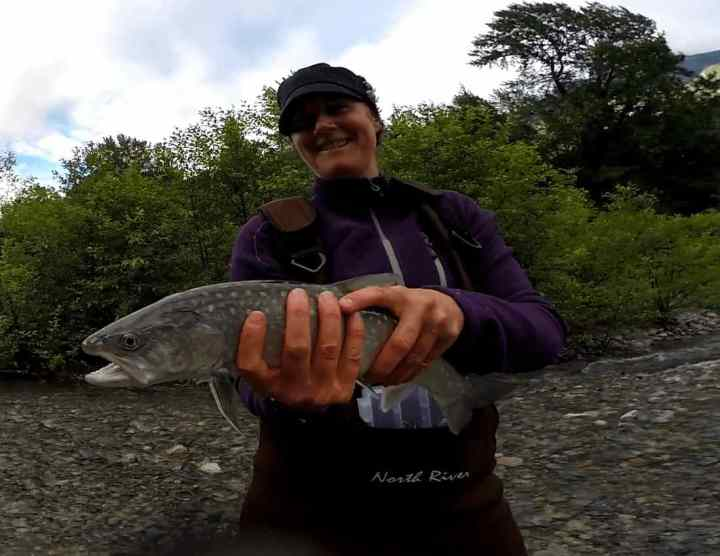 Fishing Whistler the Birkenhead River