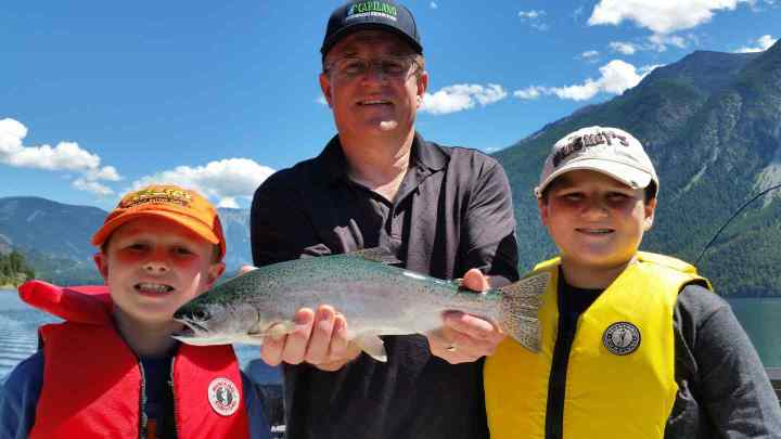 Family Fishing Vacations in Whistler British Columbia Canada