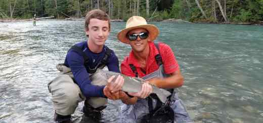River fishing Whistler