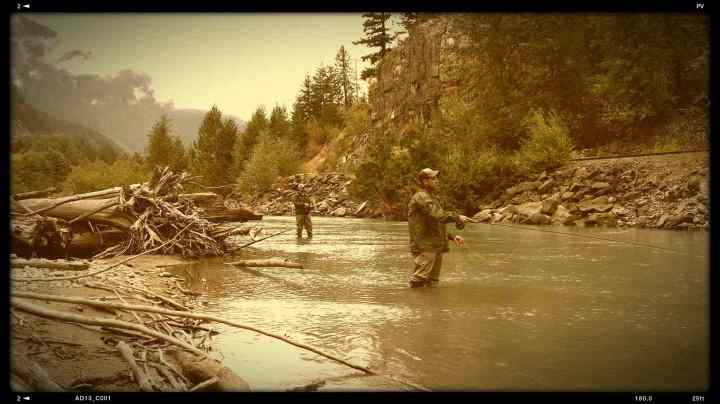 Fly Fishing the Birkenhead River Pemberton BC Canada