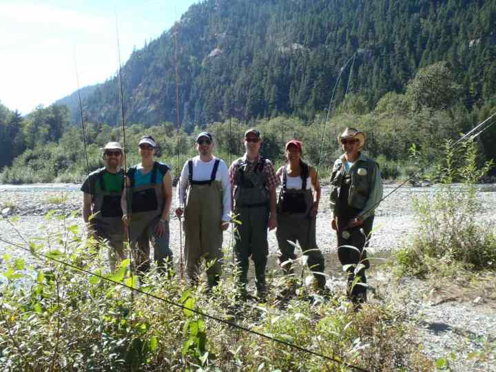 Guided Fly fishing Whistler