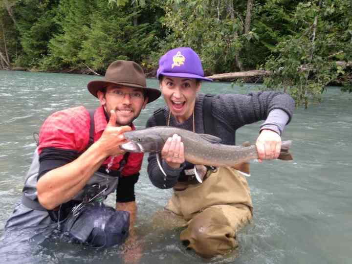 Fly fishing Whistler