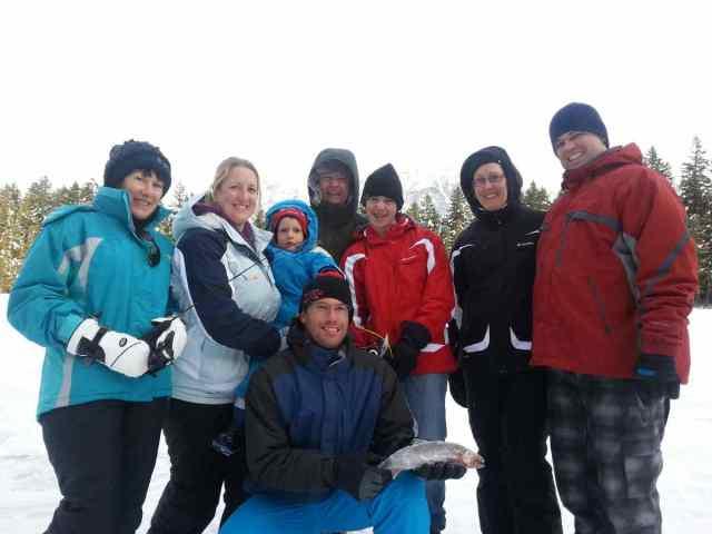 Ice Fishing Tours in Whistler British Columbia Canada
