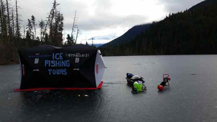 Ice fishing tours BC