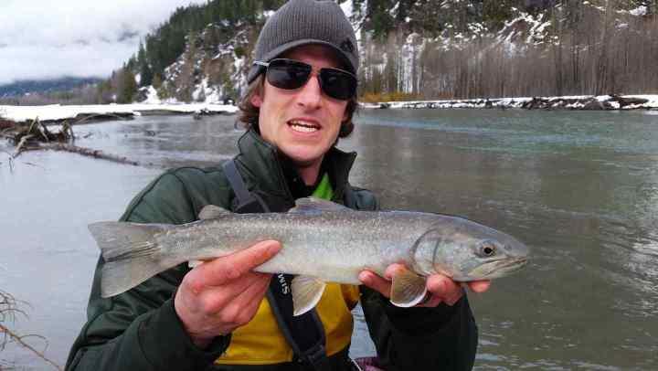 Fly Fishing Lillooet River in Pemberton BC Canada