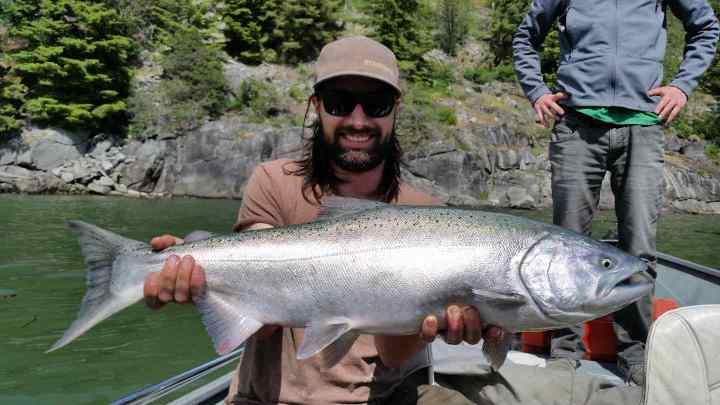 Fishing in Whistler BC