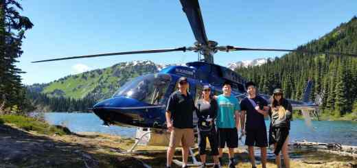 Helicopter Fishing Tours in Whistler and Pemberton BC Canada