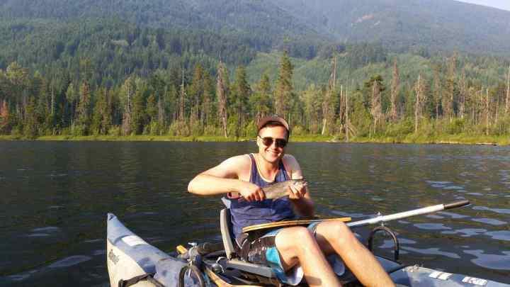 Blackwater lake Rainbow Trout