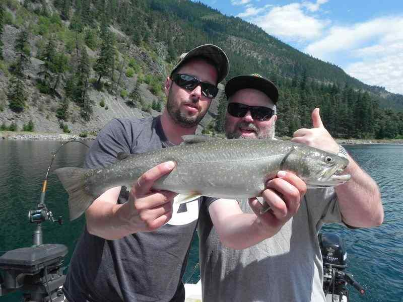 Bull Trout fishing charters in Whistler BC