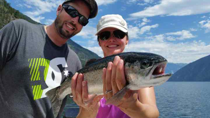 Fishing charters in Whistler BC