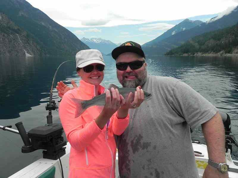 Fishing for Rainbow Trout in Pemberton