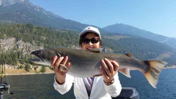 Bull Trout fishing in British Columbia