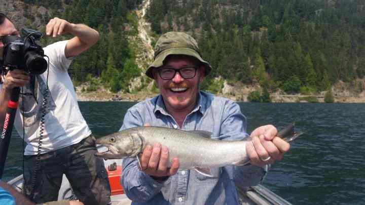 Catching Bull Trout in BC is Fun