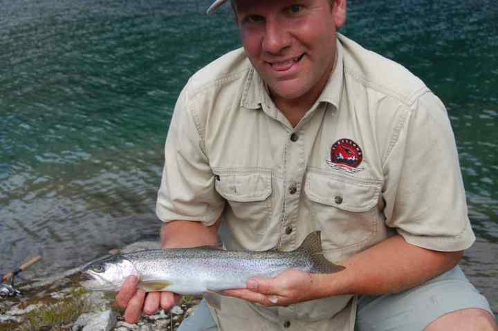 Helicopter fishing trips in Whistler BC