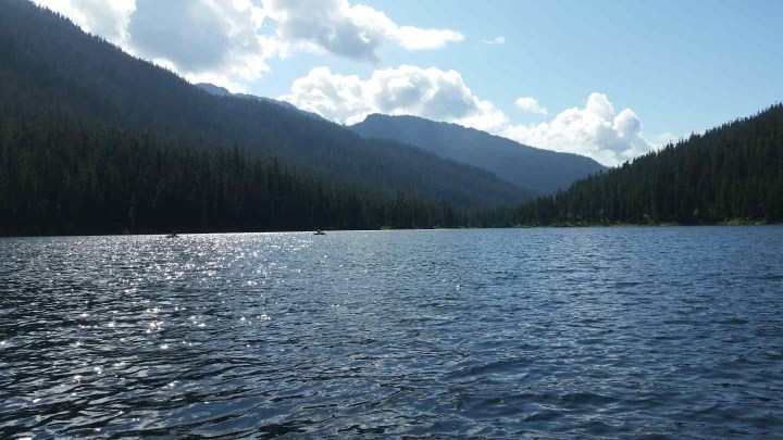 Madley lake in Whistler BC