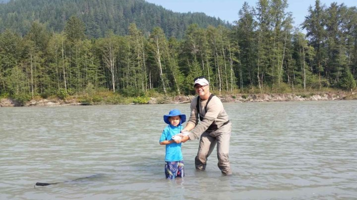 Proud Moments while fishing with the Pemberton Fish Finder