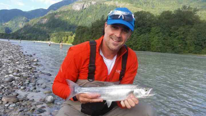 Squamish Pink Salmon Fishing