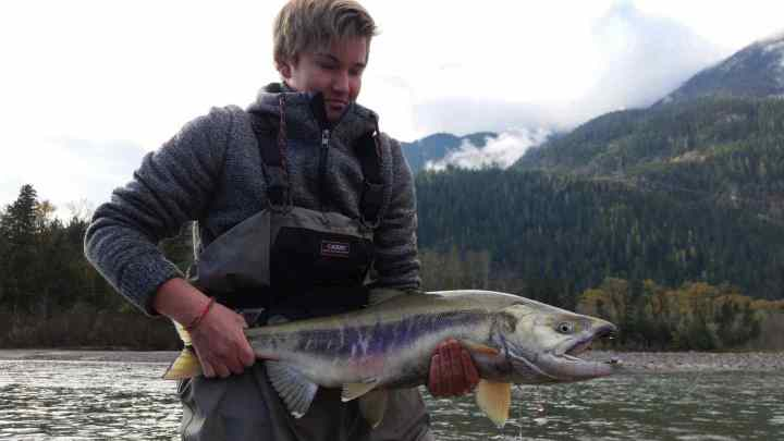 Kids love Chum Salmon fishing in Whistler BC