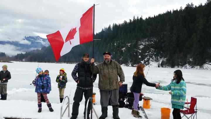 2016 Pemberton Winterfest Ice Fishing Derby
