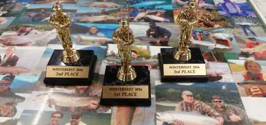 2016 Pemberton Winterfest Ice fishing trophies