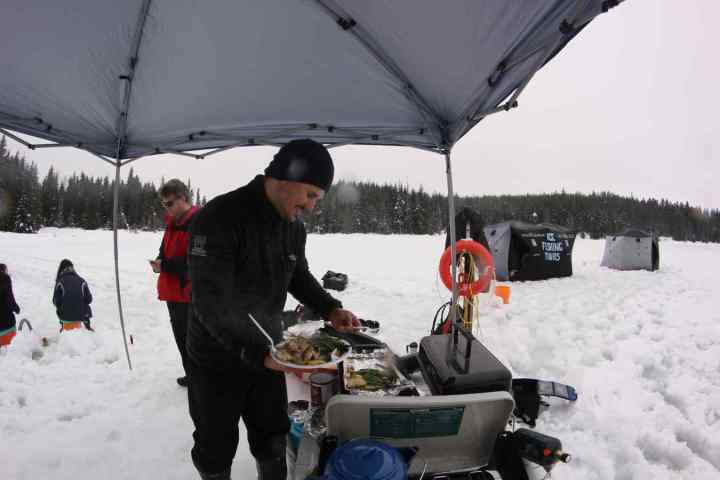 Red Seal Chef prepares a delicious lunch