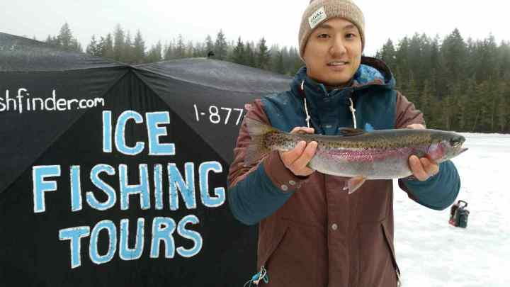 Ice fishing tours in Canada