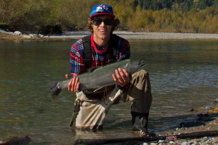 New Fishing Guide and Team Member for Pemberton Fish Finder