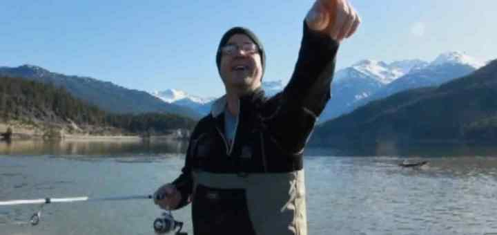Pistol Pete Fishing in Whistler BC