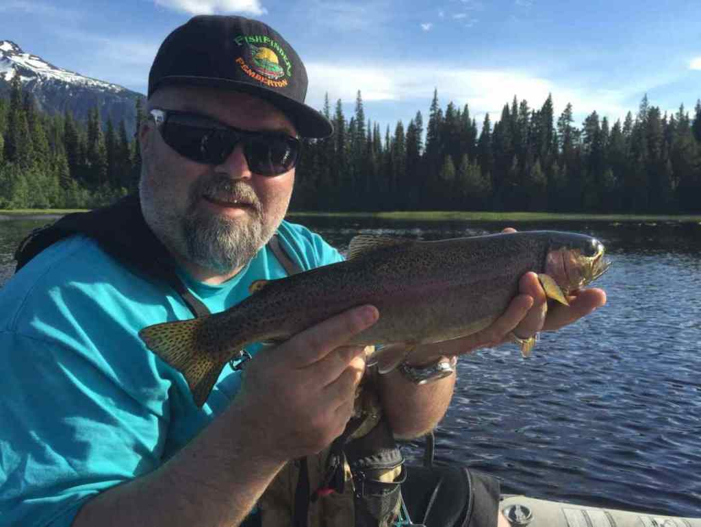 Fly fishing remote lakes in BC