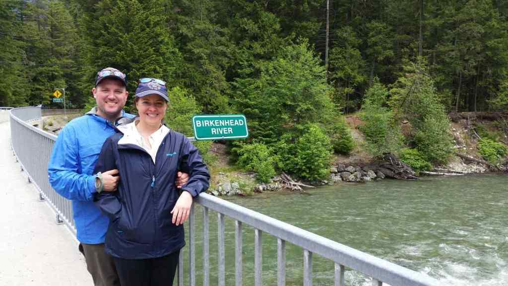 River fishing Whistler