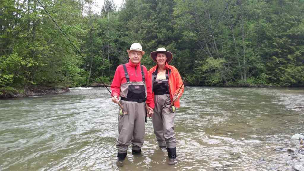 Birkenhead River Fly fishing tours