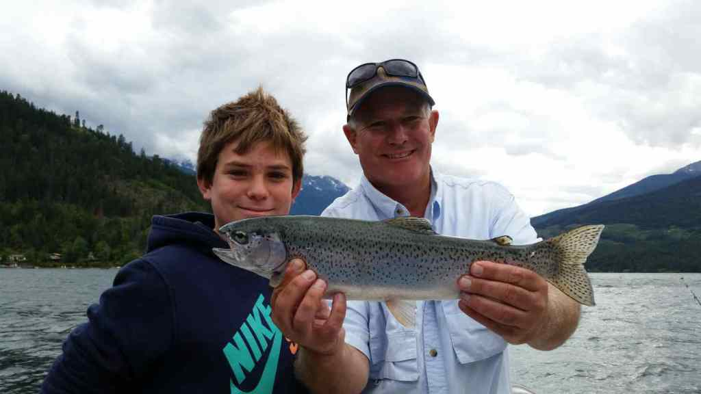 Freshwater fishing trips in British Columbia