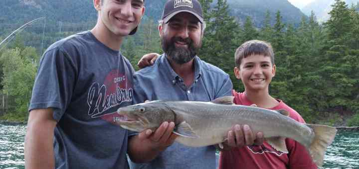 July 2016 Fishing Report for Whistler and Pemberton British Columbia Canada