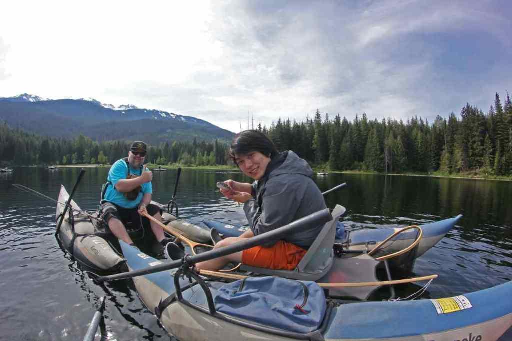 Lost lake fishing tours in Whistler BC