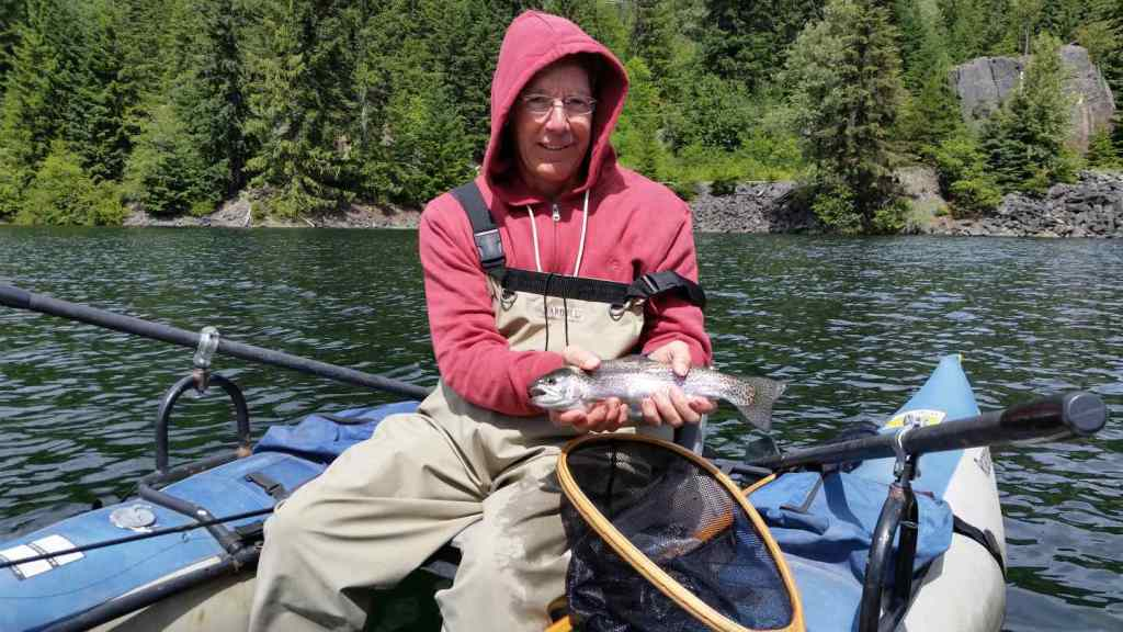 Whistler Lake fishing