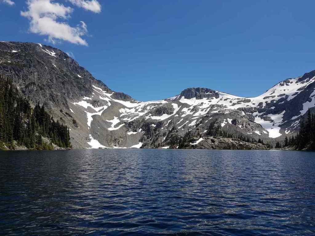 Alpine Lake in British Columbia