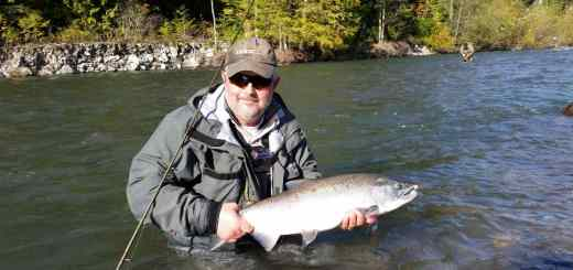 Squamish BC fishing reports Chum and Coho Salmon fly fishing